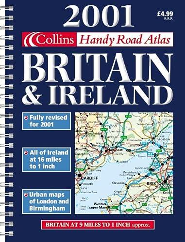 9780007107575: Collins Handy Road Atlas Britain and Ireland 2001