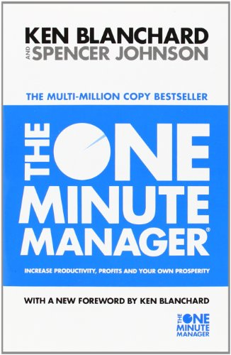 9780007107926: The One Minute Manager - Increase Productivity, Profits And Your Own Prosperity