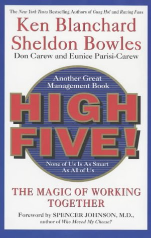 9780007108220: High Five! The Magic of Working Together (The One Minute Manager series)