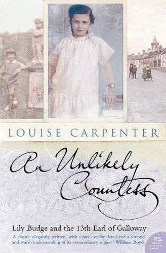 9780007108817: An Unlikely Countess: Lily Budge and the 13th Earl of Galloway