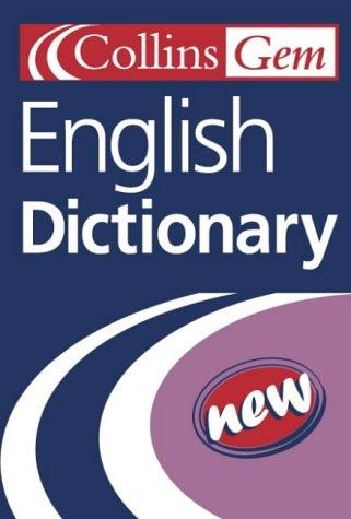 9780007109159: Collins Gem - English Dictionary