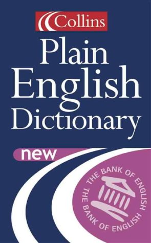 9780007109180: Collins Plain English Dictionary