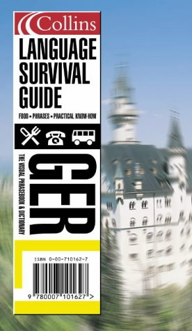 9780007109425: Collins German Language Survival Guide CD Pack: A Visual Phrasebook and Dictionary (Collins Language Survival Guide)