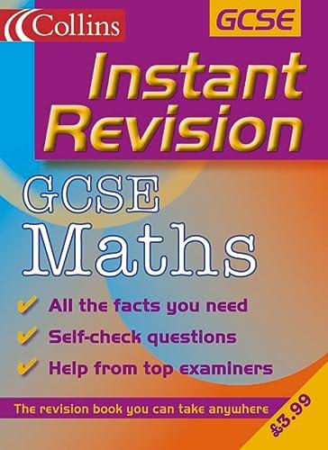 9780007109722: GCSE Mathematics (Instant Revision)
