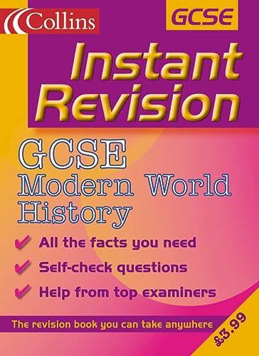 9780007109760: GCSE Modern World History (Instant Revision)