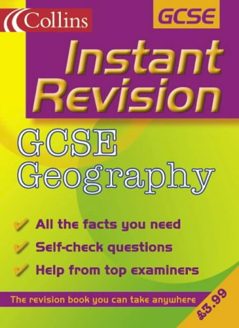 9780007109777: GCSE Geography (Instant Revision)