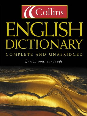 9780007109821: Collins English Dictionary : Complete and Unabridged