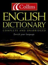9780007109838: Collins English Dictionary