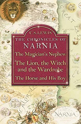 9780007109944: The Chronicles of Narnia , The Magician's Nephew: , The Lion, the Witch and the Wardrobe , The Horse and His Boy , Omnibus Edition: WITH