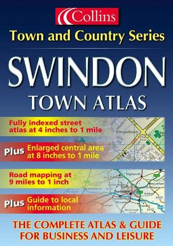 9780007110506: Swindon (Town & Country Street Atlas)
