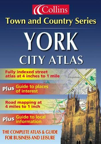 9780007110520: Town and Country - York City Atlas (Town & Country Street Atlas)