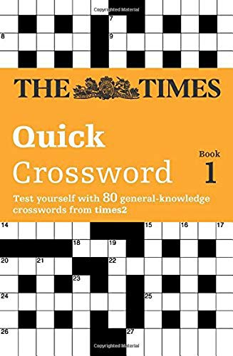 9780007110780: Times Quick Crossword Book 1: 80 General Knowledge Puzzles from The Times 2: Bk. 1
