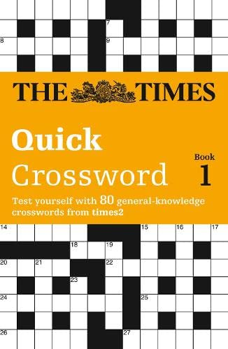 9780007110780: The Times 2 Crossword Book One