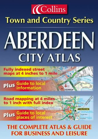 9780007112197: Town and Country - Aberdeen City Atlas (Town & Country Street Atlas)