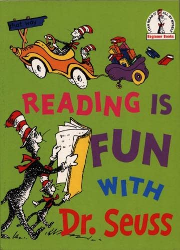 "9780007112371: Reading Is Fun With Dr. Seuss: ""Hop on Pop"", ""Marvin K.Mooney Will You Please Go Now!"", ""Oh, the Thinks You Can Think!"", ""I Can Read with My Eyes Shut!"" (Dr. Seuss Beginner Series)"