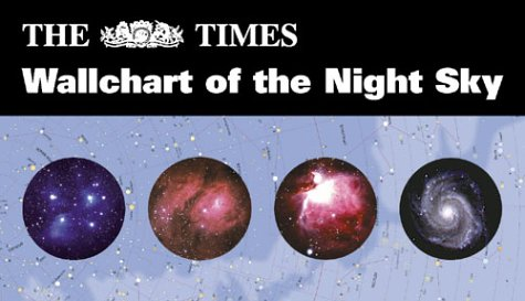 9780007112739: The Times Wallchart of the Night Sky