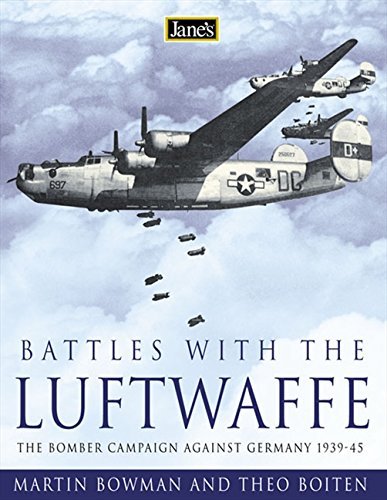 Jane's Battles with the Luftwaffe: The Bomber: Boiten, Theo, Bowman,