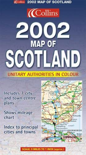 9780007114085: Map of Scotland 2002
