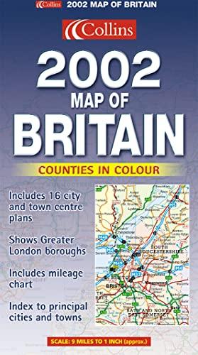 9780007114092: Map of Britain 2002