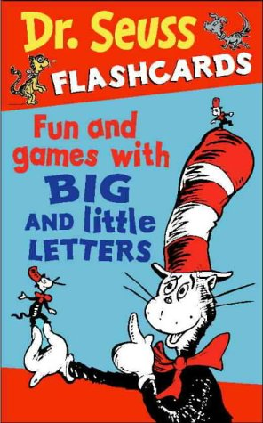 9780007115662: Fun and Games with Big and Little Letters: 30 cards (Dr. Seuss Flashcards, Book 1)