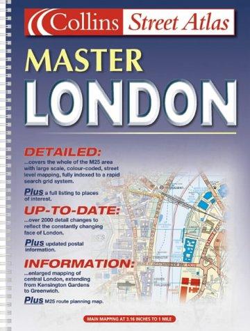 9780007115846: M25 London Master Street Atlas (Collins street atlas)