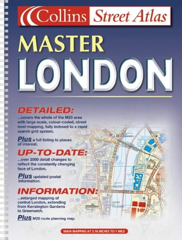 9780007115846: M25 London Master Street Atlas (Collins street atlas)