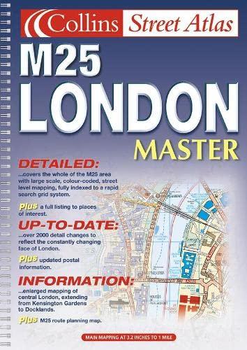 9780007115846: London Master Street Atlas (Collins street atlas)