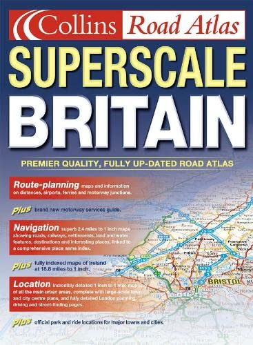 9780007116164: Superscale Road Atlas Britain and Ireland
