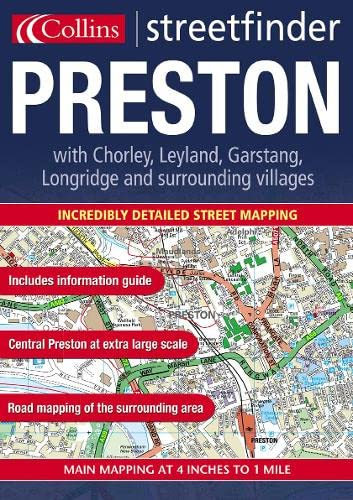 9780007116508: Preston Streetfinder (Town & country street atlases)