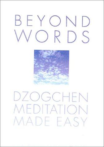 9780007116775: Beyond Words: Dzogchen Made Simple