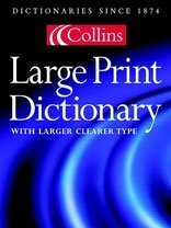 9780007116805: Collins Large Print Dictionary
