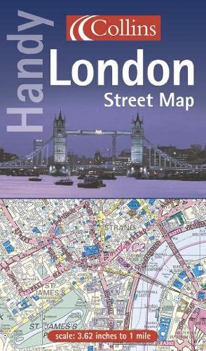 9780007117161: Handy London Street Map