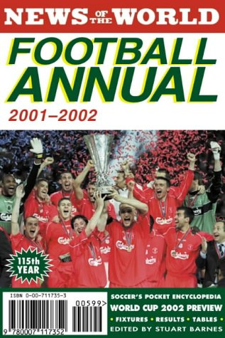 9780007117352: News of the World Football Annual 2001/2002