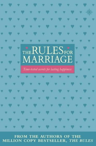 9780007117901: The Rules for Marriage