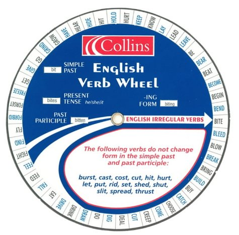 9780007119516: Collins English Verb Wheel : Pack of 30