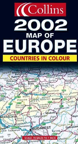 9780007119943: Map of Europe 2002