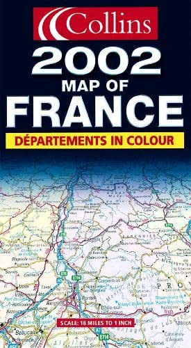 9780007119950: Map of France 2002