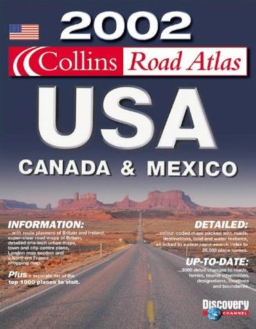 9780007119967: 2002 Collins Road Atlas USA, Canada and Mexico