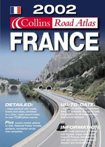 9780007119974: Collins Road Atlas: France (Road Atlas)
