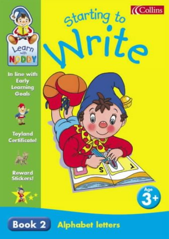 9780007120543: Learn With Noddy - Alphabet Letters: 3+ Starting to Write: Alphabet Letters Bk. 2