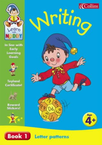 9780007120550: Learn With Noddy - Letter Patterns: 4+ Writing: Letter Patterns Bk. 1