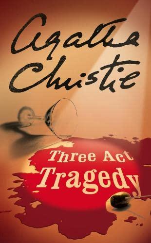 9780007120901: Three Act Tragedy