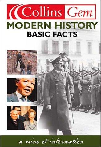 Modern History (Collins Gems)