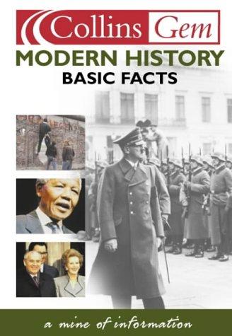 9780007121823: Collins Gem - Modern History Basic Facts