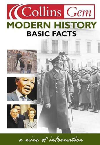 9780007121823: Modern History (Collins Gems)