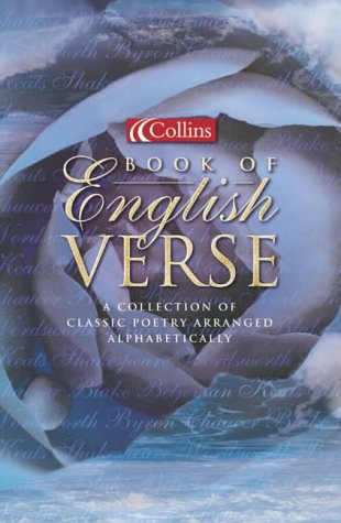 9780007121830: Collins Book of English Verse (Poetry)