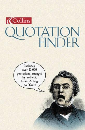 9780007121847: Collins Quotation Finder