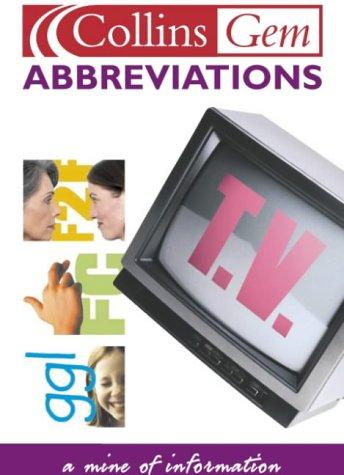 9780007121861: Abbreviations (Collins GEM)