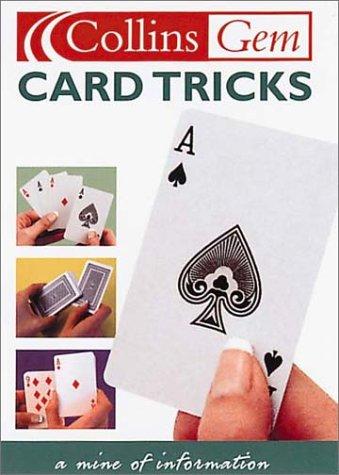 9780007121960: Card Tricks (Collins Gem)