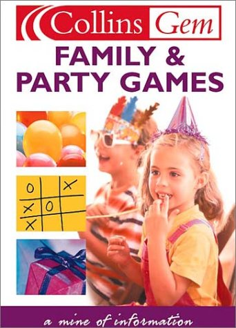 9780007122707: Family and Party Games (Collins Gems)